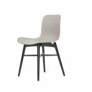 LANGUE Original Chair Black/Grey Krzesło