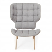 MAMMOTH Chair Fluffy Wool Grey Fotel