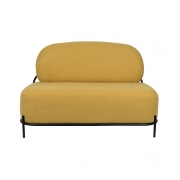 POLLY Yellow - Sofa 2-osobowa