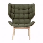 MAMMOTH Chair Fluffy Wool Forest Fotel