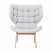 MAMMOTH Chair Fluffy Wool Natural Fotel