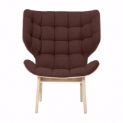 MAMMOTH Chair Fluffy Wool Mocca Fotel