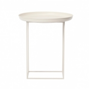 DUKE Side Table Small/White Stolik D45