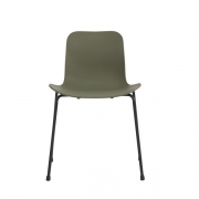 LANGUE Stack Chair Green Krzesło