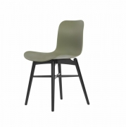 LANGUE Original Chair Black/Green Krzesło