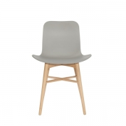 LANGUE Original Chair Natural/Grey Krzesło