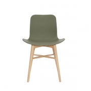 LANGUE Original Chair Natural/Green Krzesło