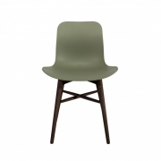 LANGUE Original Chair Brown/Green Krzesło