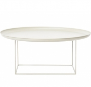 DUKE Coffee Table Large/White Stolik D90