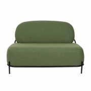 POLLY Green - Sofa 2-osobowa