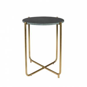 TIMPA Side Table Marble Green - Stolik