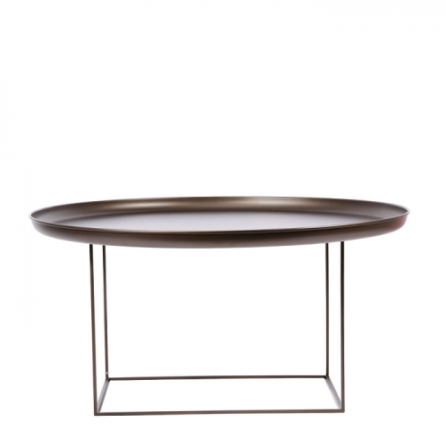 DUKE Coffee Table Large/Bronze Stolik D90
