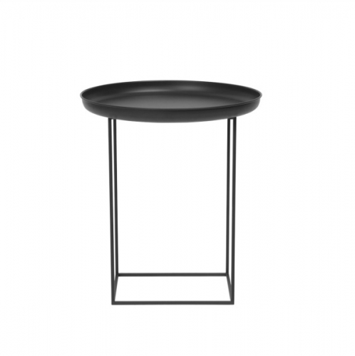 DUKE Side Table Small/Black Stolik D45