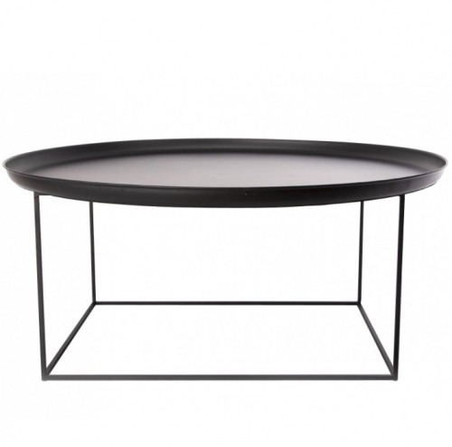 DUKE Coffee Table Large/Black Stolik D90