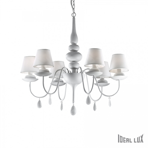 Ideal Lux BLANCHE SP6 Lampa wisząca - DECORTIS.COM